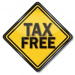 31397108-sign-caution-tax-free